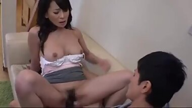 Fucked My new Asian Stepmom