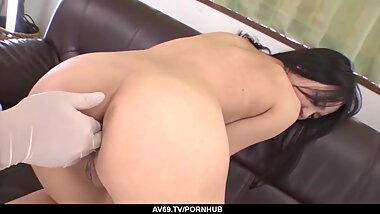 Rare casting anal sex for petite Natsuho - More at 69avs com