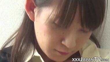 Young Japanese amateur orgasms multiple times from vibrator