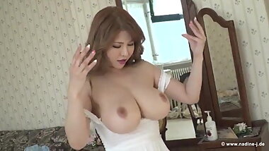 Anri Okita Loves her big titties